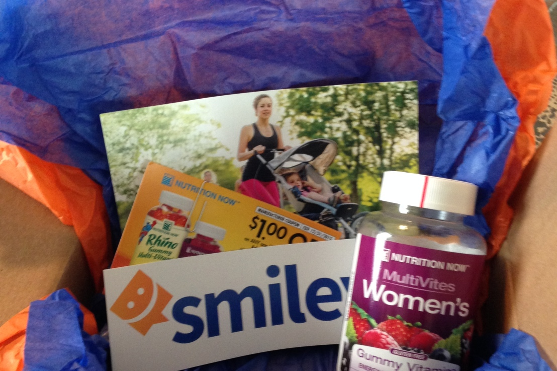 Current Smiley360 Mission – Nutrition Now MultiVites Woman's GummyVitamins
